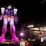 ガンダム立像ライトアップ WINTER Ver.|東京イベント