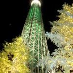 東京スカイツリータウンイルミネーション2013 東京イベント